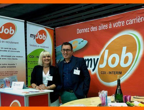 myJob acteur de l'emploi sur notre région.